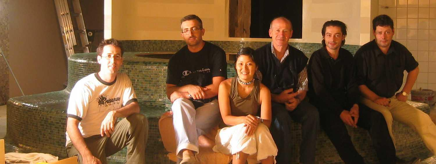 The Salon 2003 on Channel 4 with BISAZZA
